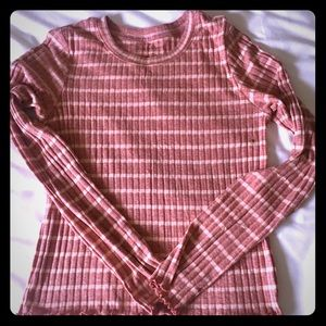 NWOT American Eagle long sleeve shirt. Fitted.